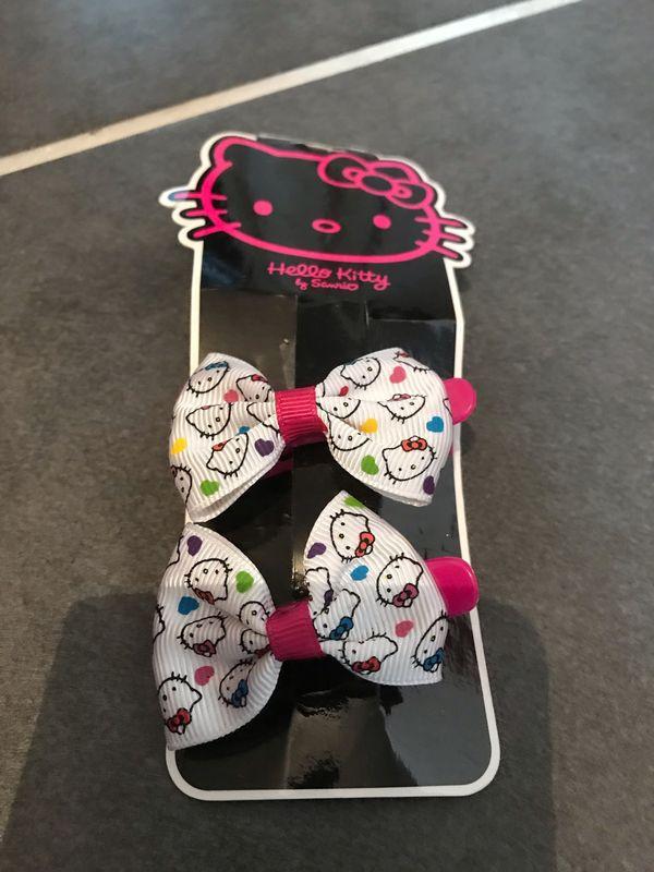 Neue Hello Kitty Haarspangen 2er
