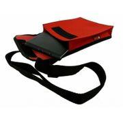 rote Marschmappentasche Umhängetasche für Noten
