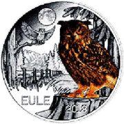 3 EUR Tier Taler Eule