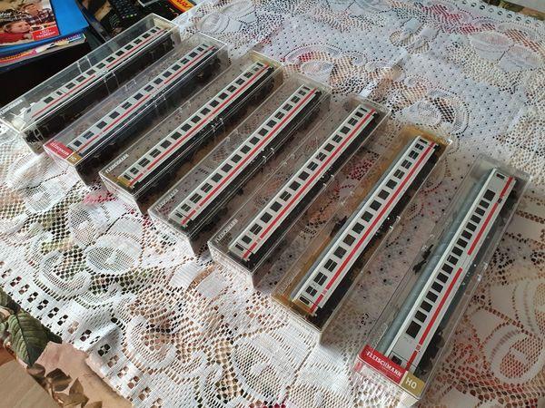 Fleischmann IC-Wagen Set 7- teilig