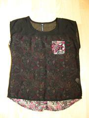 Tunika Bluse Shirt Gr 36