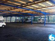 Stellplatz für Wohnwagen Wohnmobil - NUR