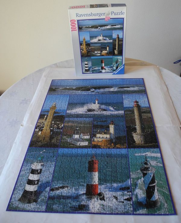 Puzzle Paket 5 Puzzle je 1000 Teile teilweise neu Ravensburger Schmidt komplett Puzzles & Geduldspiele