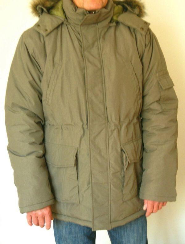 size 40 01cb0 162df Jacke Winterjacke Gr. M 48-50 khaki armygrün olivgrün ...