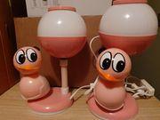 Kindernachttischlampen 2 Stück