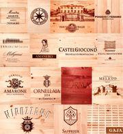 Weinkisten Deckel Bretter Holz