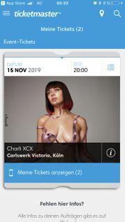 2x Konzertkarten Charli XCX