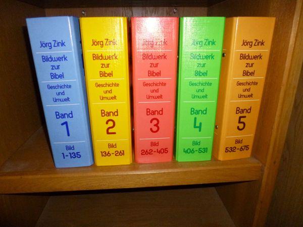 Bilderwelt zur Bibel, Jörg Zink - 5 Bände Sehr gut erhalten