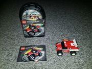 10 Dosen Lego Racer einzeln