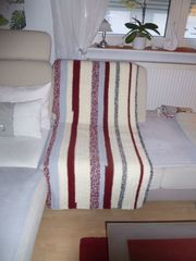 Gehäckelte Couchdecke 2 60mx1 50m