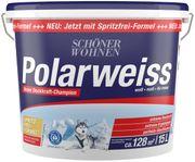 Hochwertige Wand- Deckenfarbe Polarweiss von