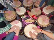 Familien-TROMMELN - Rhythmus für kleine und