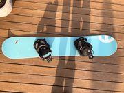 Hooger Freeride Snowboard Damen Mädchen