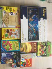 Spiele Puzzle 10 Stück insgesamt