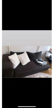Gemütliches Sofa Anthrazit