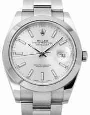 Rolex Datejust 126300 Stahl Uhr