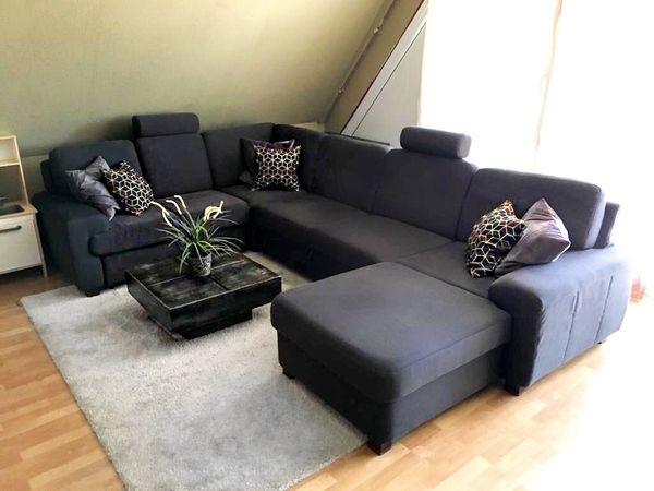 Wohnlandschaft Ecksofa Sofalounge Couch Tisch in Hannover - Polster ...