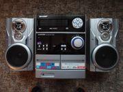 Musikanlage mit 5 Fach CD