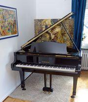 Klavier Yamaha C3 schwarz lackiert