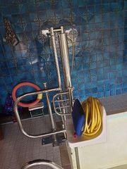 Poollift mit Wasserdruck