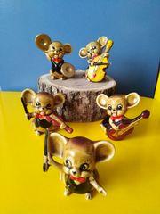 Mäuseorchester Musiker Maus Figuren 5