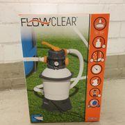 Bestway Sandfilteranlage Sandfilterpumpe Flowclear Pool