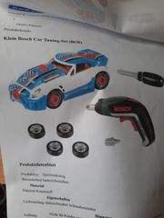 Klein Bosch Car Tuning Set