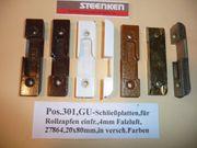 GU-Schließplatten für Rollzapfen einfr für