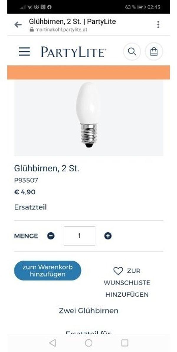 Gluehbirnen