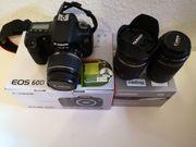 Canon EOS 60D mit drei