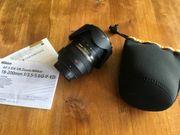Nikon Nikkor AF-S DX 18-200mm Tasche