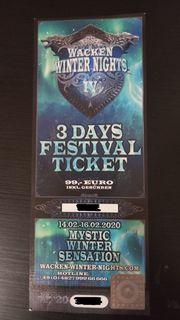2 Tickets Wackens Winternächte