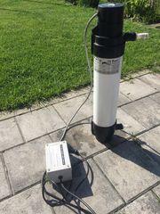 Meerwasser UV Klärer DeBarry Sterilisator