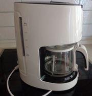 Kaffeemaschine SILVERCREST weiß schwarz