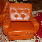 Couch mit zwei Sessel