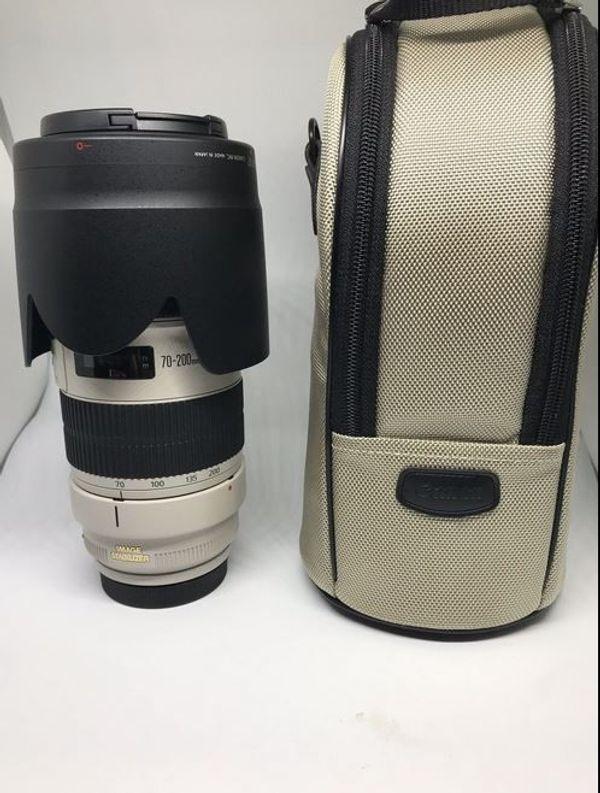 Canon EF 70-200 mm F2