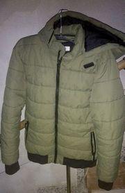 H M wattierte Winter Jacke