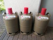3x 11kg Gasflaschen gebraucht