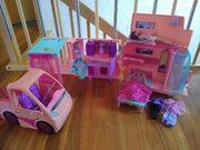 Barbie-Camper mit Zubehör