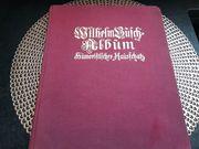 Antikes Buch Wilhelm Busch Album-