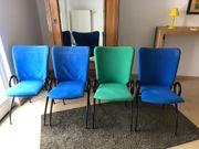 4 Esszimmer Stühle klappbar