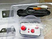 Top Retro -Spielkonsole mit TV-Anschlußkalel