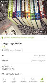 Greg s Tagebücher