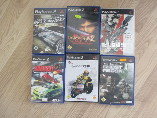 Sony Play Station PS2 Spiele