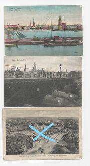 Feldpostkarten Lettland 1 Weltkr