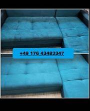 Wir reinigen professionell Ihre Couch