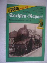 Eisenbahn Journal V 95 Sachsen-Report