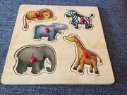 tolles Holz Puzzle - Zootiere 5