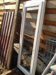 Rehau - schmale Balkontür und Fenster -