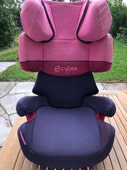 Cybex Solution x-fix Pink lila